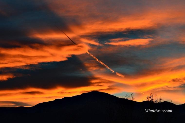 Colorado Springs Sunset Pikes Peak