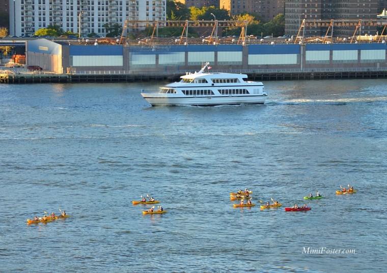 Hudson River Kayakers