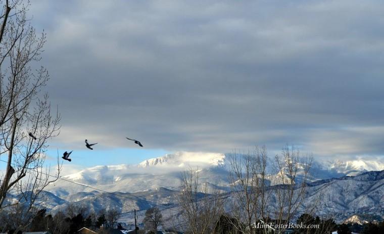 Pikes Peak Shrouded