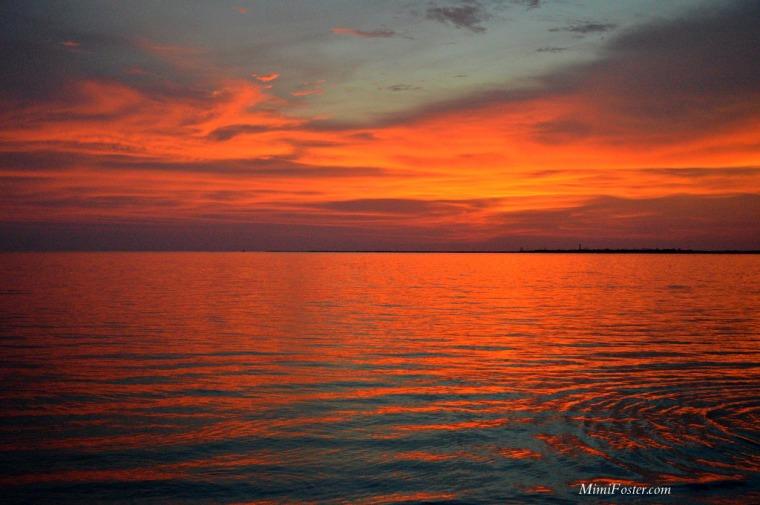 Sunset Tarpon Springs Florida